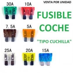 FUSIBLES TIPO CUCHILLA COCHE MOTO FURGONETA CAMION
