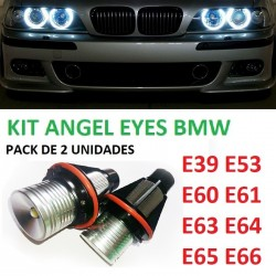 KIT ANGEL EYES LED BMW SERIE 5 6 7 X5 E39 E53 E60 E61 E63 E64 E65 E66