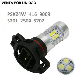 BOMBILLA LUZ DE DIA Y NIEBLA H16 PSX24W 9009 2504