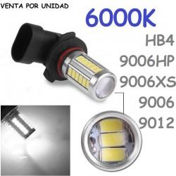 HB4 9006 LED BOMBILLA PARA COCHE ANTI NIEBLA