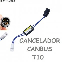 CANCELADOR DE ERROR BOMBILLAS T10 W5W LED PARA COCHE