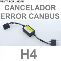 CANCELADOR DE ERROR BOMBILLAS H4 9003 HB2 LED PARA COCHE