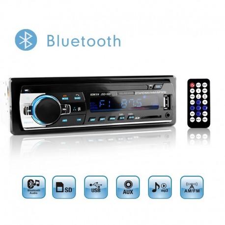 RADIO DIGITAL MP3 USB BLUETOOTH 240W AUX PARA COCHE O FURGONETA