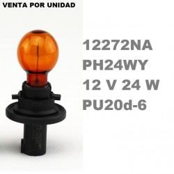 BOMBILLA 12272NA PH24WY 12V 24W PU20d-6 HALOGENA NARANJA