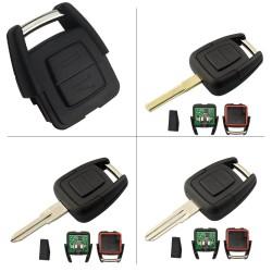 Llave con mando Opel Recambio 2 Botones Con Electrónica y Chip Tipo D