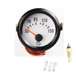 Reloj Medidor Temperatura Aceite Universal Gasolina Automovil