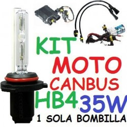 KIT XENON H9 35w CANBUS NO ERROR MOTO 1 BOMBILLA