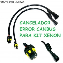 CANCELADOR ERROR CANBUS KIT XENON ANTIPARPADEO