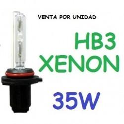 BOMBILLA HB3 9005 XENON 35W REPUESTO COCHE MOTO