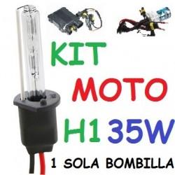 KIT XENON H1 35w (ESTANDAR) MOTO 1 BOMBILLA