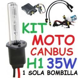 KIT XENON H1 35w CANBUS NO ERROR MOTO 1 BOMBILLA