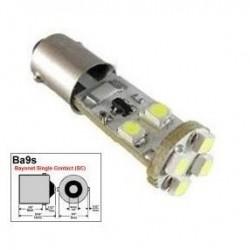 BOMBILLA LED CANBUS NO ERROR POSICION T11 W6W BA9S H6W BAYONETA COCHE