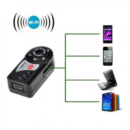 CAMARA WIFI P2P MD81 Q7 MOVIL ANDROID IPHONE PC INALAMBRICA