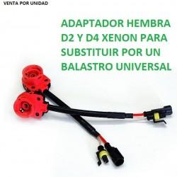 ADAPTADOR BALASTRO UNIVERSAL PARA XENON DE SERIE D2S D2C D2R D4S