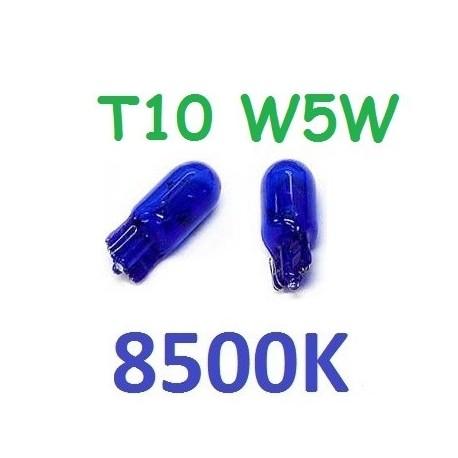 BOMBILLA POSICION INTERIOR CUADRO HALOGENA T10 W5W 6000K LUZ BLANCA
