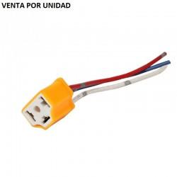 CONECTOR H4 H4-2 9003 CERAMICO PARA BOMBILLAS LED XENON HALOGENA