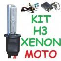 KIT XENON H3 MOTO